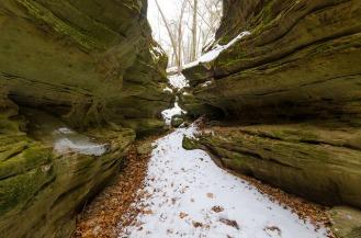 Narrow Gorge Passage