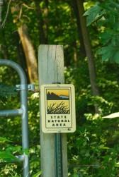 Gate & Sign